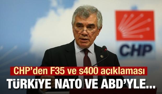 CHP'nin F35 açıklaması şaşırtmadı! NATO ve ABD'yi haklı gördüler
