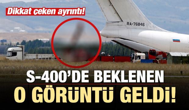 S-400'lerde 9. uçağın sevkiyatı yapıldı! Dikkat çeken görüntü