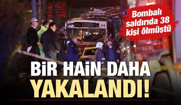 Ankara 38 kişi ölmüştü! O hain yakalandı