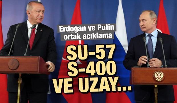 Erdoğan ve Putin'den ortak üretim açıklaması