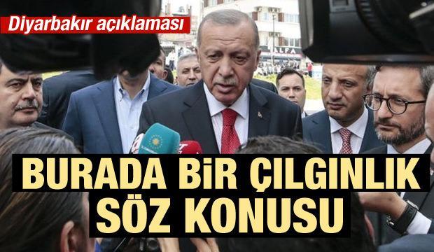 Son dakika haberi ! Cumhurbaşkanı Erdoğan: Bir çılgınlık söz konusu