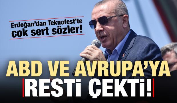 Son dakika haberi: Erdoğan, ABD ve Avrupa'ya resti çekti!