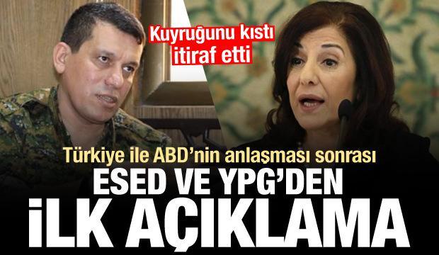 Türkiye ile ABD'nin anlaşması sonrası PKK/YPG ve Esed'ten ilk açıklama