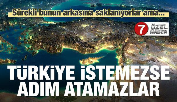 Yok hükmündedir! Türkiye istemezse adım atamazlar