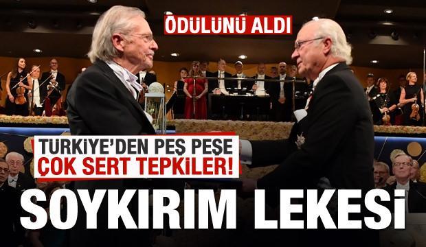 Son dakika: Handke Nobel ödülünü aldı! Türkiye'den peş peşe tepkiler!