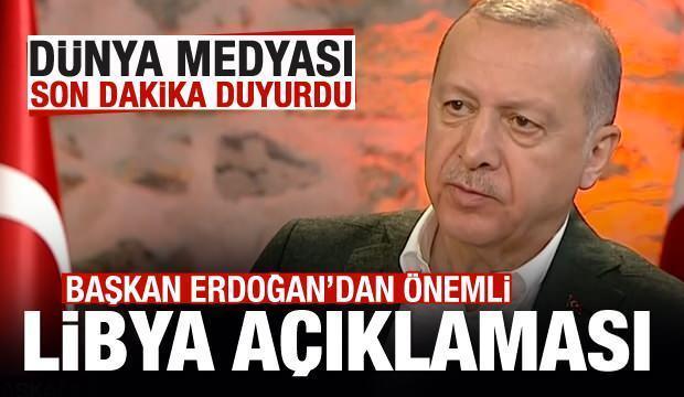 Başkan Erdoğan duyurdu, dünya medyası son dakika geçti!