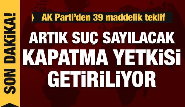 AK Parti'den yeni kanun teklifi... Mehmet Muş'tan son dakika açıklama