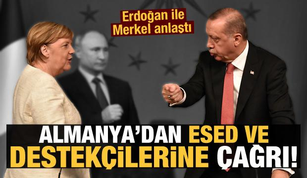 Son Dakika Haberi: Merkel'den Esed ve destekçilerine çağrı...