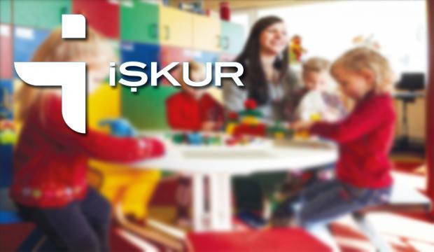 İŞKUR: IŞKUR'dan En Az Ortaöğretim Mezunu Okul Öncesi Öğretmeni