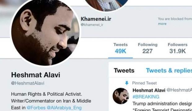 Bomba iddia! 'Haşmet Alavi' hesabı sahte çıktı