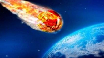 Куда упадёт метеорит 12 октября 2018