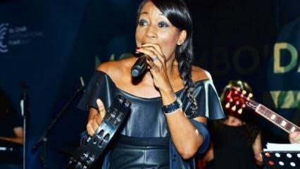 ABDli ünlü vokalist Della Miles Dalyanlı oldu 9