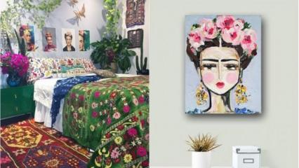 Frida Kahlo stiline uygun dekoratif öneriler 1