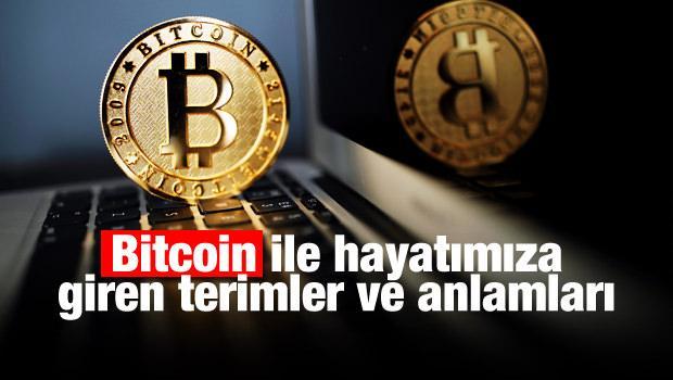 Bitcoin ile hayatımıza giren terimler ve anlamları