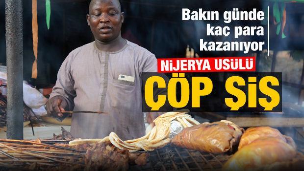Nijerya usulü çöp şiş 'Suya'