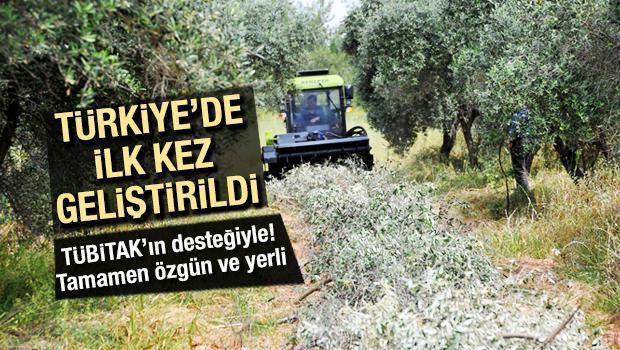 Türkiye'de ilk kez geliştirildi! Kendiyürür budama
