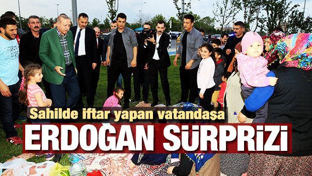 Karşılarında Erdoğan'ı görünce şoke oldular