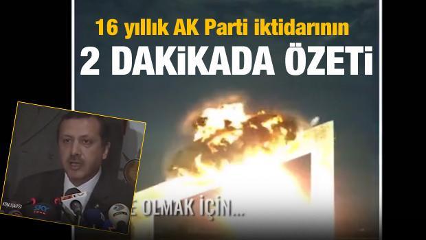 16 yıllık AK Parti iktidarının 2 dakikada özeti...