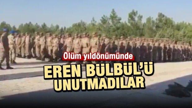Komandolar Eren Bülbül'ü unutmadı!