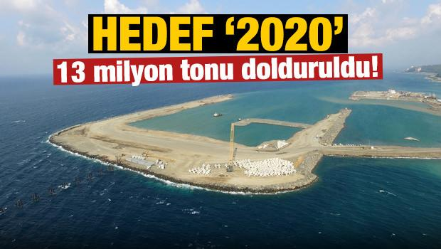 Hedef 2020! 13 tonu dolduruldu!