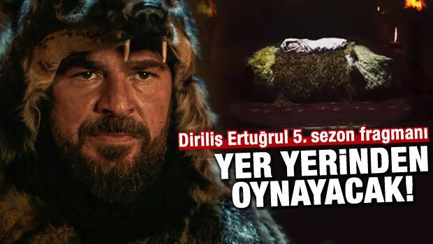 Diriliş Ertuğrul 5.sezon 122.bölüm fragmanı!