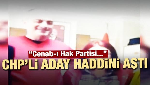 CHP adayı Sertaslan'dan skandal sözler!