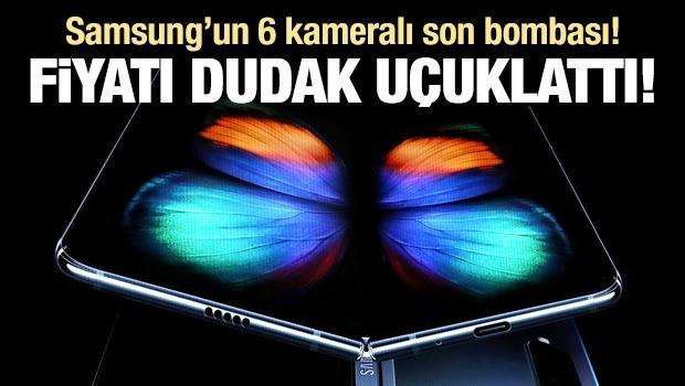 Samsung'un 6 kameralı son bombası! Fiyatı dudak uçuklattı!