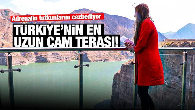 Türkiye'nin en uzun cam terası!