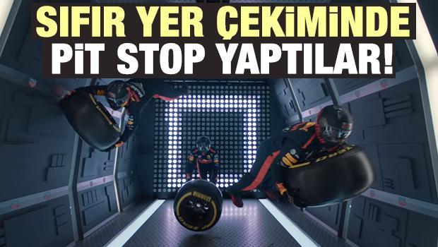 Nefes kesen anlar! Uzayda pit stop yaptılar...