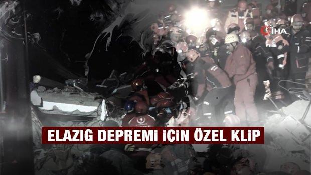 Elazığ depremi için özel klip