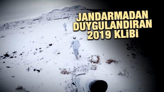 Jandarma'dan duygulandıran 2019 klibi